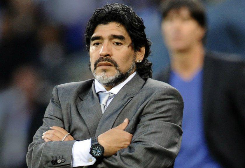 Sesal Maradona Untuk Italia
