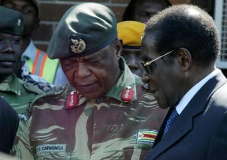 Presiden Zimbagwe Dikudeta Militer