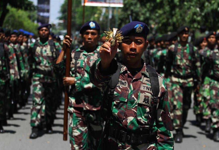 Prajurit TNI Dapat Penghargaan di Malaysia