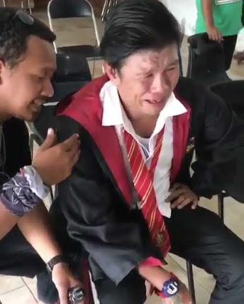 Viral di Medsos, Andika Kangen Band Nangis
