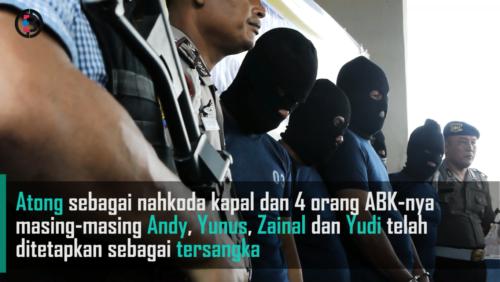 Polisi Tetapkan Lima Tersangka Kasus Insiden Kapal TKI