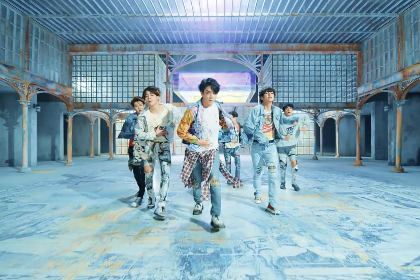 Video Fake Love BTS Nge-Hits Sampai 100 Juta View