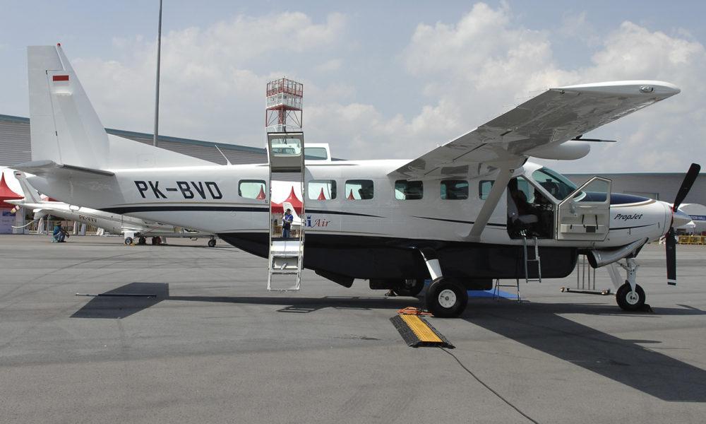 Terbang dengan Cessna Grand Caravan, Tanjungpinang – Dabo Singkep!
